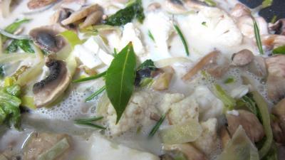 Cacahuètes grillées et ses restes de légumes - 5.4