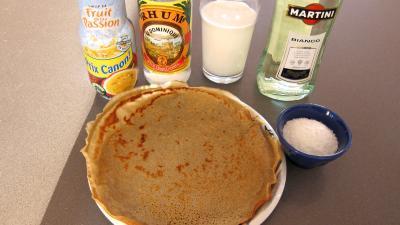 Ingrédients pour la recette : Martini blanc en cocktail à la créole pour mardi gras