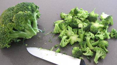 Beignets de brocolis au chèvre frais - 1.2