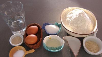 Ingrédients pour la recette : Bagels