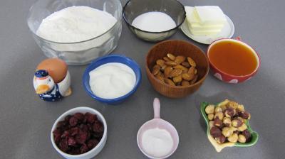 Ingrédients pour la recette : Oreilles d'Haman (Hamann-taschen)
