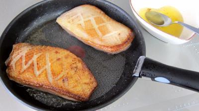 Magret au foie gras et aux brocolis - 9.2