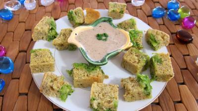Recette Cubes de cake aux brocolis et ricotta