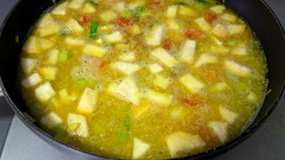 Soupe de gambas à la crème de coco - 7.1