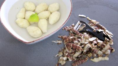 Allumettes de carottes et topinambours en salade - 3.2