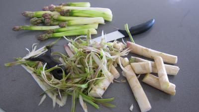 Flans d'asperges - 1.1