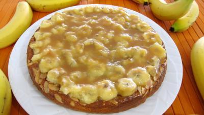 Gâteau aux amandes et aux bananes - 8.3