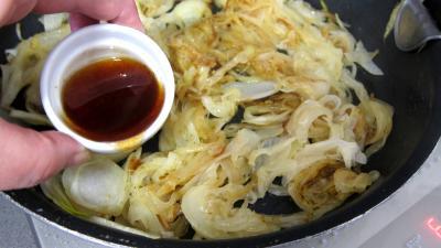 Compotée d'oignons et d'épinards et son rognon de veau - 4.3