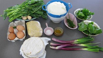 Ingrédients pour la recette : Tarte aux broutes