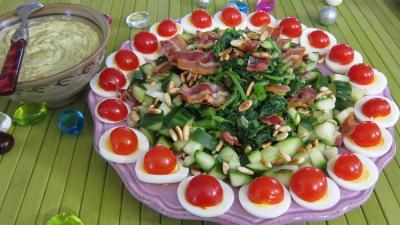 Recette Salade de broutes