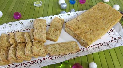Recette Plat de biscotti aux cacahètes
