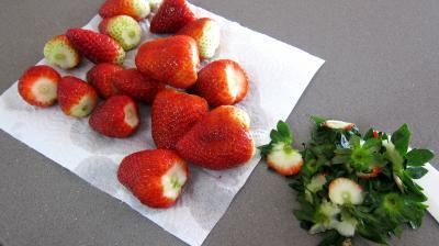 Ricotta aux fraises en tarte - 5.1