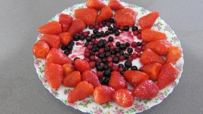 Gâteau aux fromages à la purée fraises, myrtilles, cassis Vitabio - 7.3