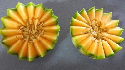 Cocktails perles de melon au porto - 2.1