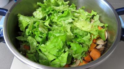 Fines herbes et légumes en velouté - 7.1