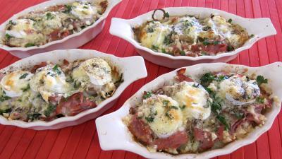 Recette Escalopes de veau gratinées aux fromages
