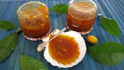 citron vert : Pot de confiture de kumquat
