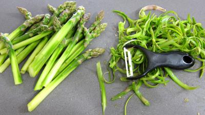 Pousses de bambou et asperges gratinées - 2.4