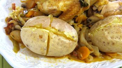 Faisan au chou et aux carottes - 10.1