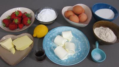 Ingrédients pour la recette : Whoopie pies aux fraises
