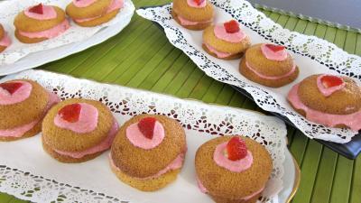 Whoopie pies aux fraises - 11.4