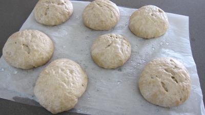 Boules de pains au levain à l'ancienne - 7.1