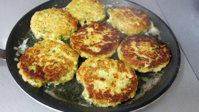 Hamburgers au cabillaud et aux asperges - 9.2