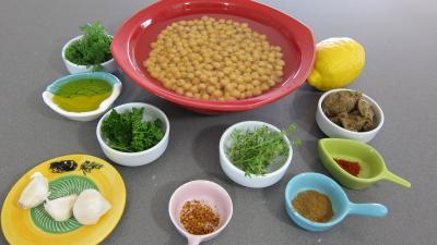 Ingrédients pour la recette : Houmous du Liban revisité