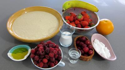 Ingrédients pour la recette : Cornets de crêpes à la plancha