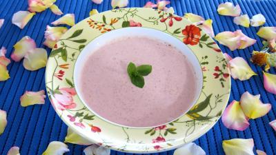 Ananas à la plancha et sa sauce aux fraises - 6.3