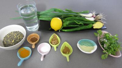 Ingrédients pour la recette : Dahl