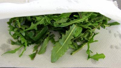 Salade tiède de poisson - 1.1