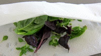 Salade tiède de poisson - 2.3