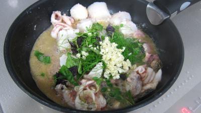 Salade tiède de poisson - 5.1