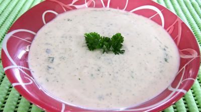 Recette Sauce au yaourt