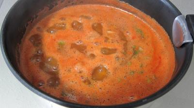 Sauce tomate aux petits pois - 5.1