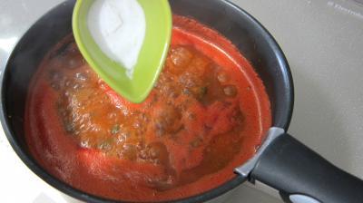 Sauce tomate aux petits pois - 5.3