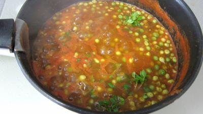Sauce tomate aux petits pois - 6.3