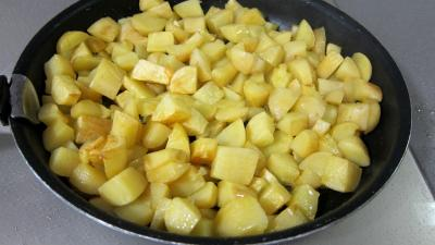 Frittata aux pommes de terre et petits pois - 4.3