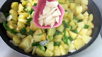Frittata aux pommes de terre et petits pois - 5.1