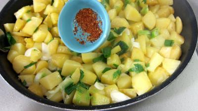 Frittata aux pommes de terre et petits pois - 5.3