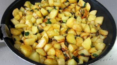 Frittata aux pommes de terre et petits pois - 6.1