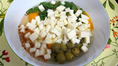 Frittata aux pommes de terre et petits pois - 7.4