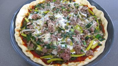 Pizza à l'oseille et aux haricots beurre - 10.1