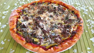 Recette Pizza à l'oseille et aux haricots beurre
