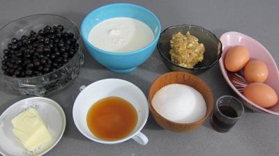 Ingrédients pour la recette : Glace ou crème glacée au cassis