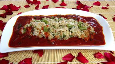 Risotto de cardon et sa sauce tomate - 9.1