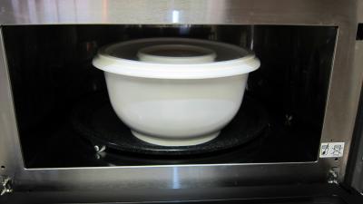 Soupe de courgette facile au micro-ondes - 9.4