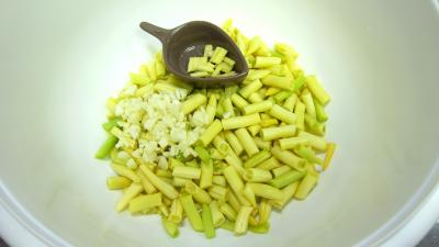 Crme de courgette en amuse-bouche - 7.4