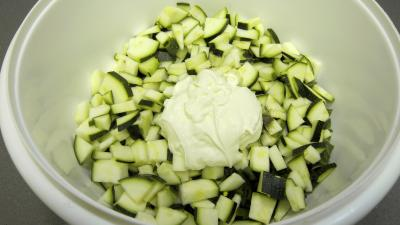 Crme de courgette en amuse-bouche - 8.4